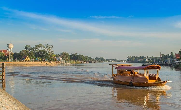 Ayutthaya boottocht