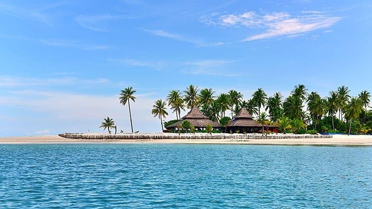 Het piepkleine eilandje Koh Muk