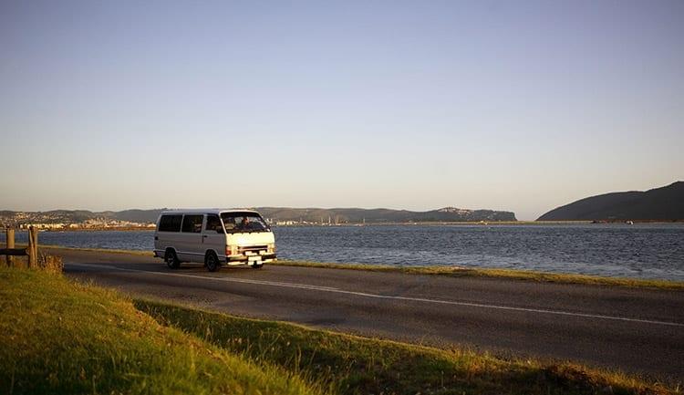 Lokaal vervoer per minibus