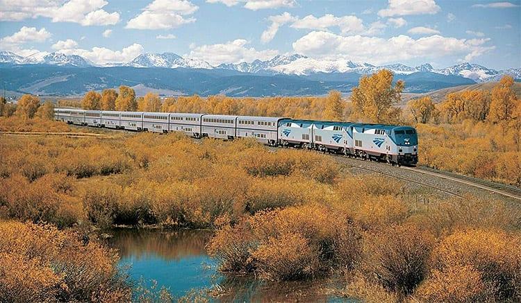 Amtrak trein