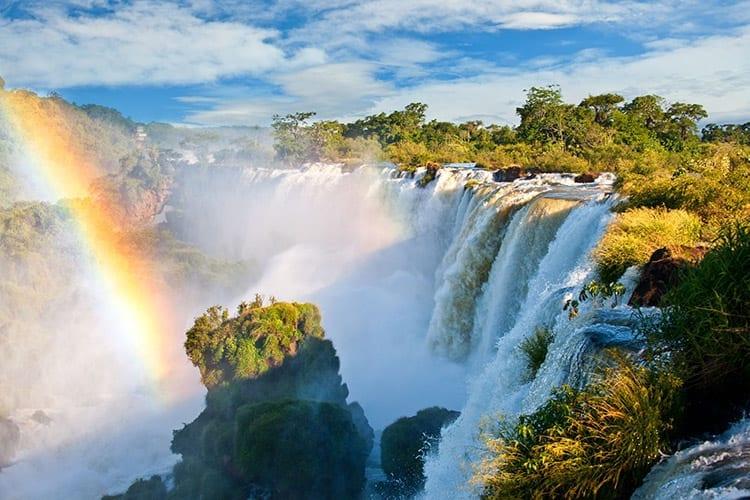 Iguazu Falls vanaf de Argentijnse kant