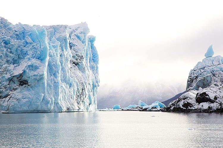 Boottocht langs de Perito Moreno gletsjer