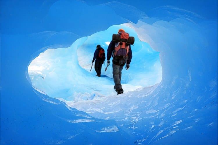 Wandelen in de Perito Moreno gletsjer
