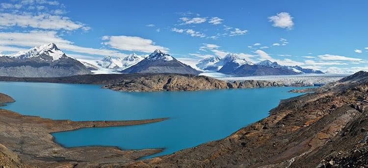 Upsala gletsjer