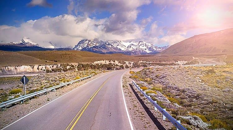 De weg naar El Chaltén