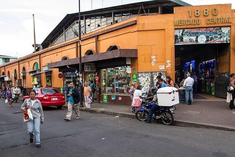 Mercado Central markt in San José