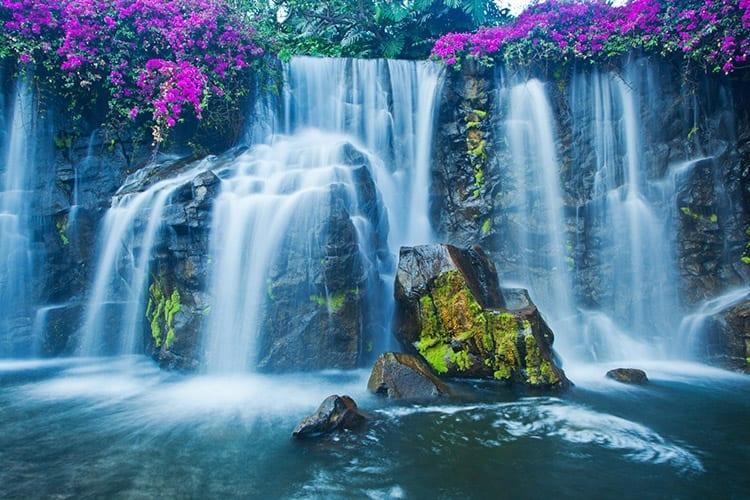 Wailea waterval op Maui