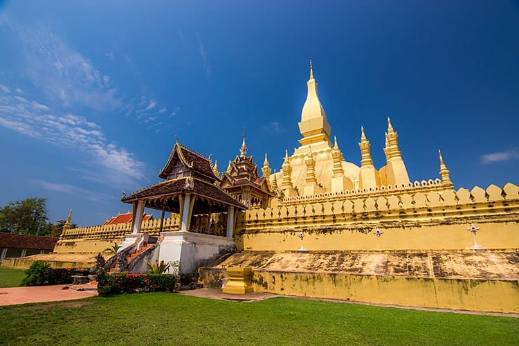 Pa That Luang in Vientiane