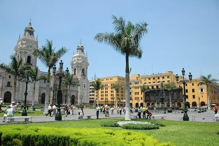 De Kathedraal van Lima