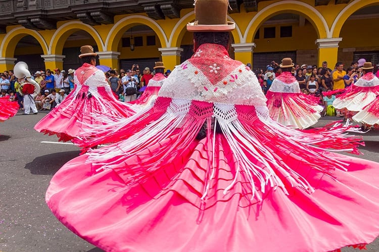 Carnaval in Lima