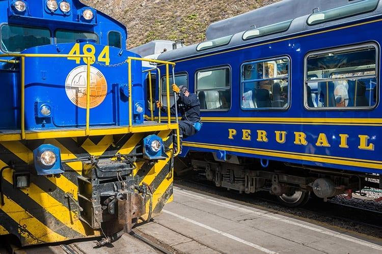 Treinen in Peru