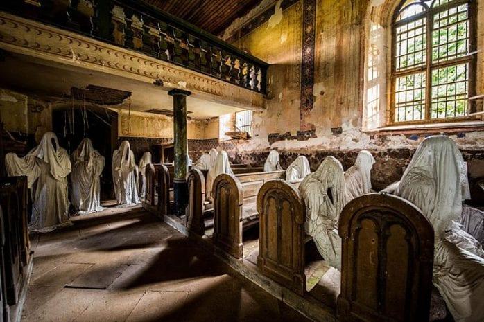 De kerk van de 9 geesten, Tsjechië