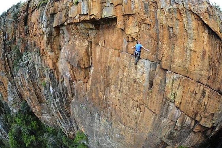 Rotsklimmen, Zuid-Afrika