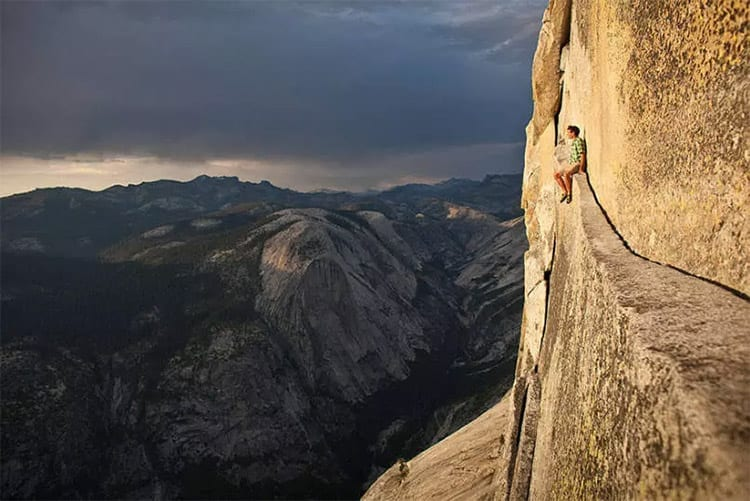 Klimmen in Yosemite National Park, Amerika