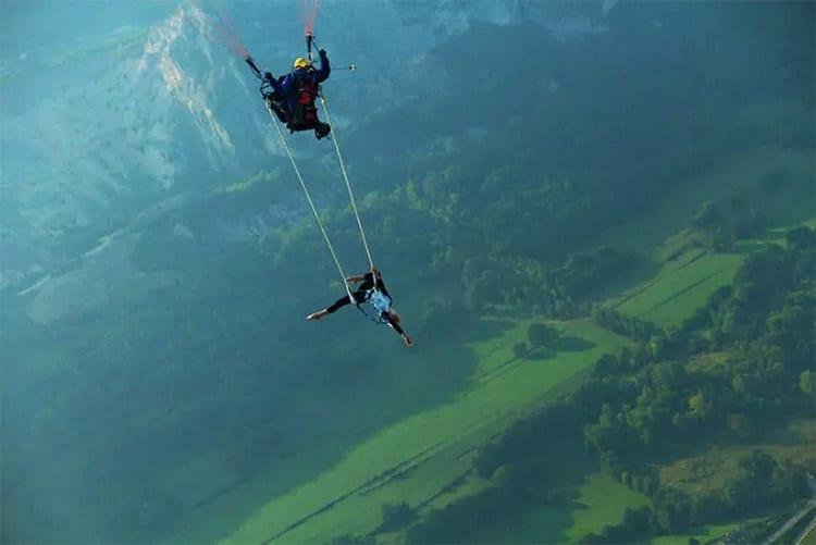 Trapeze paragliden