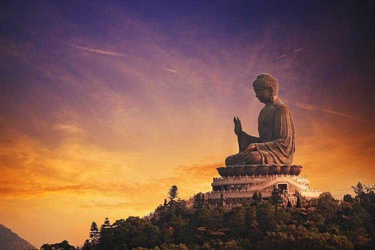 Tian Tan Boeddha beeld