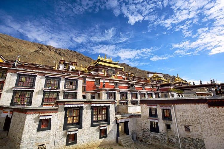 Tashilhunpo klooster in Shigatse