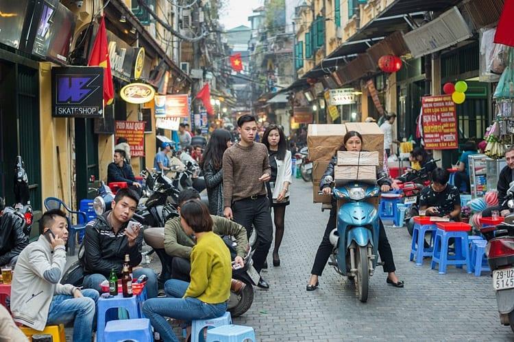 Hanoi's 'Old Quarter'