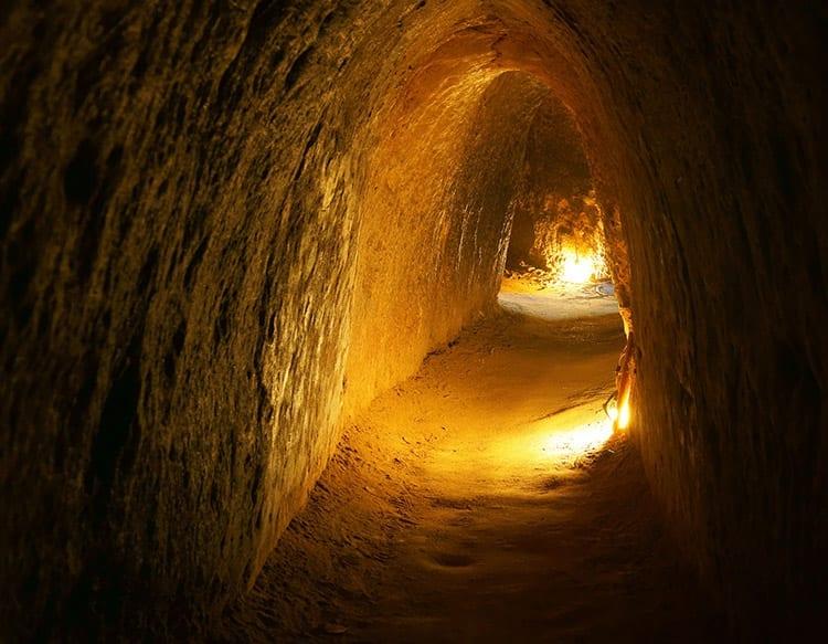 Cu Chi-tunnel