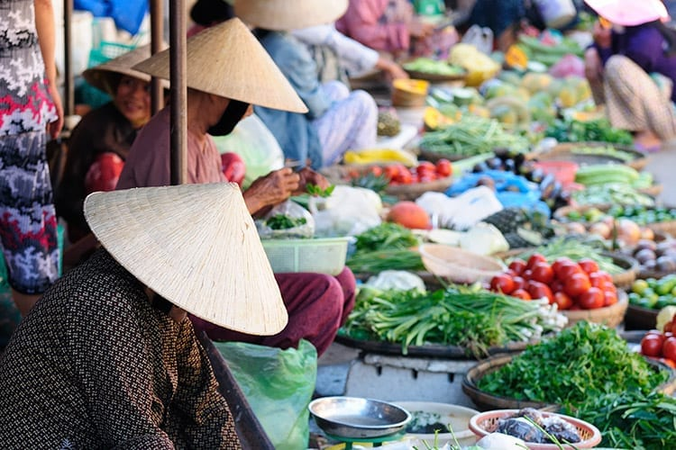 Markt in Hoi An