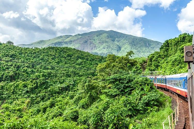 De trein van Hanoi naar Sapa