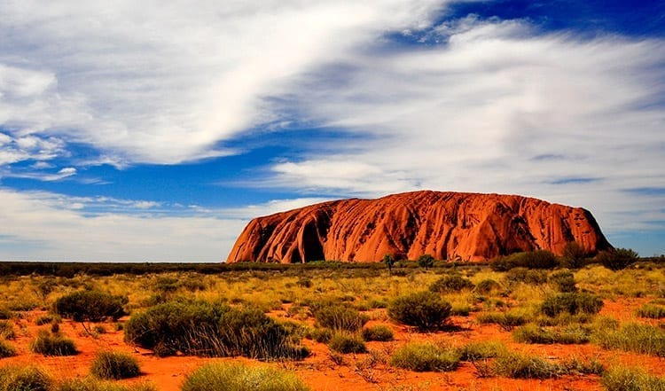 Ayers Rock, Outback