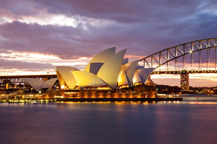 Opera House en de Harbour Bridge