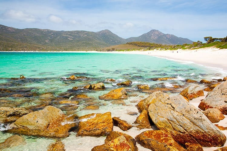 Wineglass Bay in het Freycinet National Park