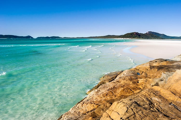 Paradise Beach op Whitsunday Island