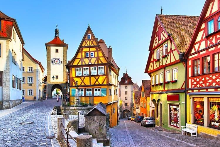 Rothenburg-ob-der-Tauber, Duitsland