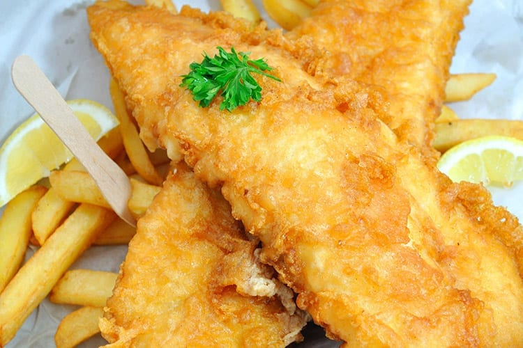 Fish and Chips, Engeland