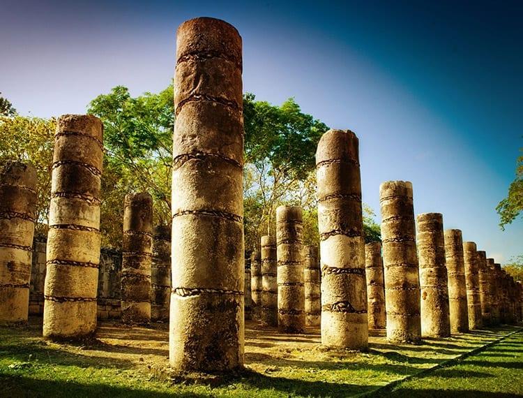 Tempel van de Duizend Zuilen