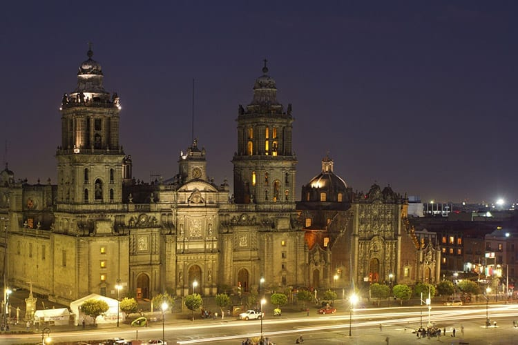 Zócalo in Mexico-Stad