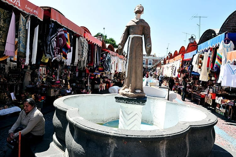 Artist Market in Puebla