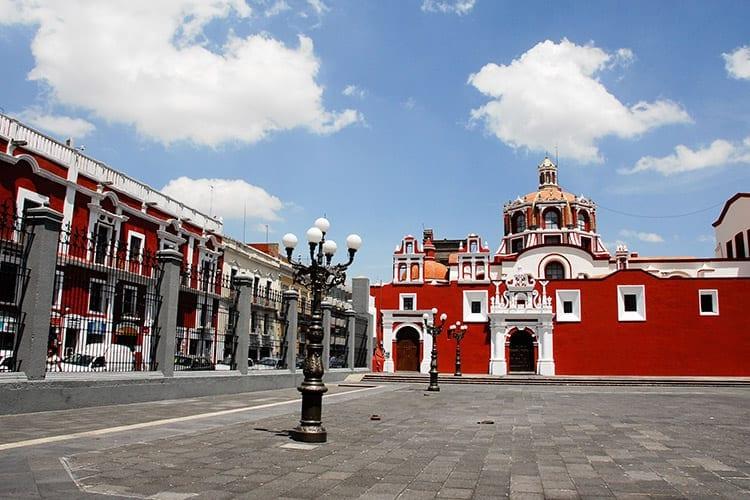 Santo Domingo kerk, Puebla