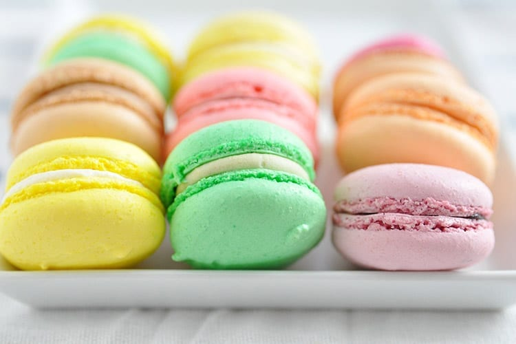 Macarons, Parijs