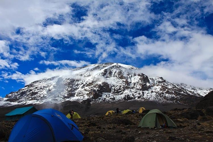 Overnachten op de Kilimanjaro