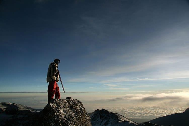 Top van de Kilimanjaro
