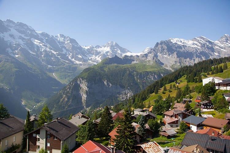 Mürren, Zwitserland