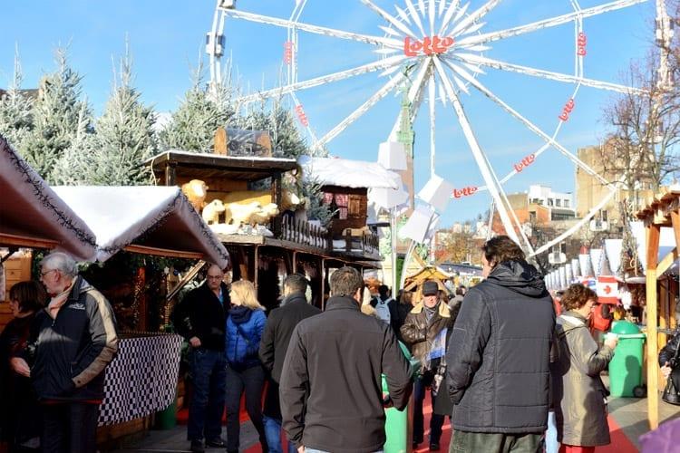 België, Brussel, kerstmarkt