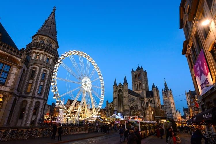 België, Gent, kerstmarkt