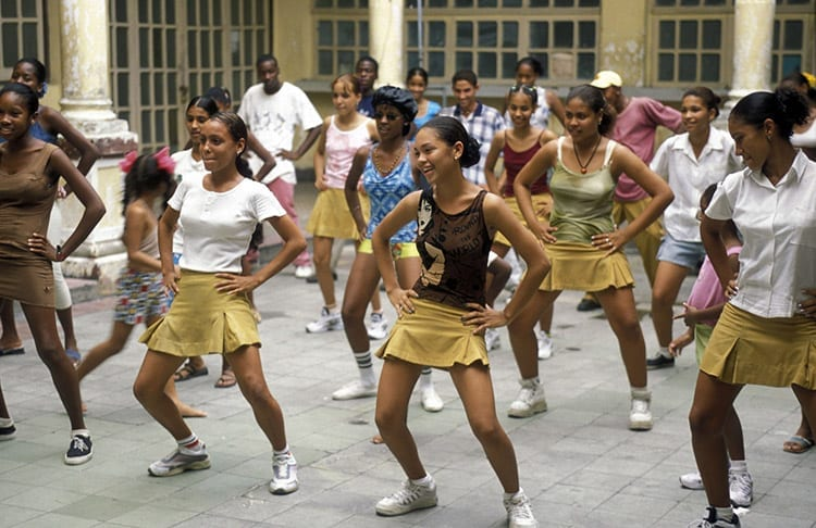 Salsa in Santiago de Cuba