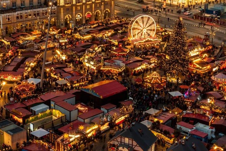 Duitsland, Dresden, kerstmarkt