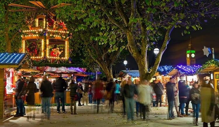 Kerstmarkt Londen