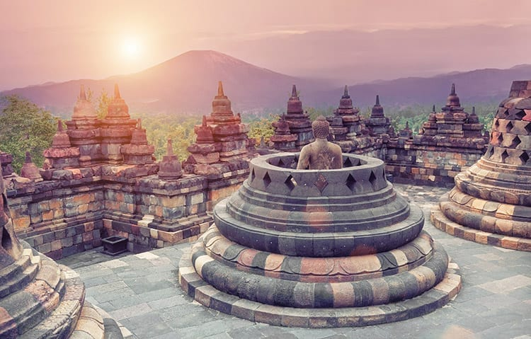 Borobudur, Indonesië