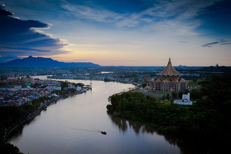 Kuching in Sarawak