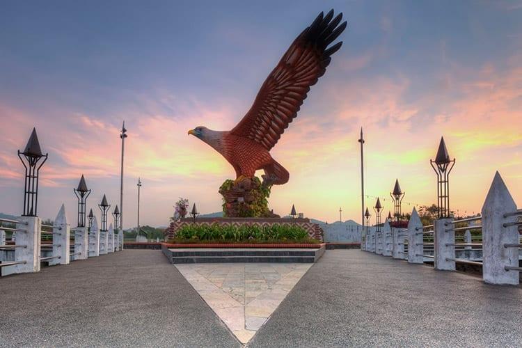 Eagle plein in Kuah, Langkawi