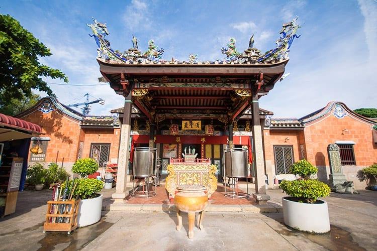 Snake Tempel, Penang