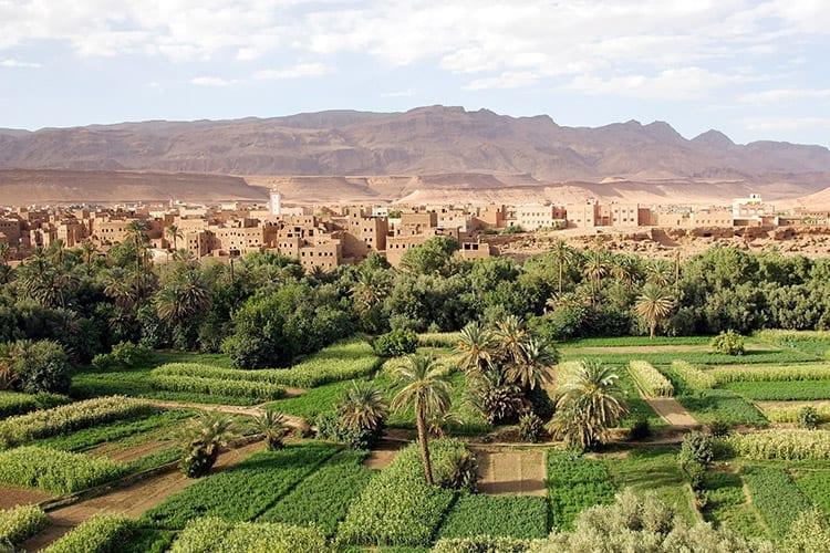 Traditioneel dorp in de Atlas