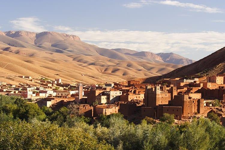 Atlasgebergte, Marokko